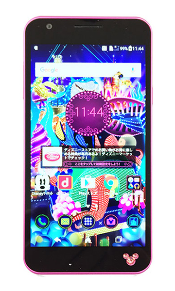 Disney mobile on docomo dm 02h